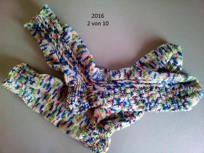 Socken HoC 2/10 - 2016