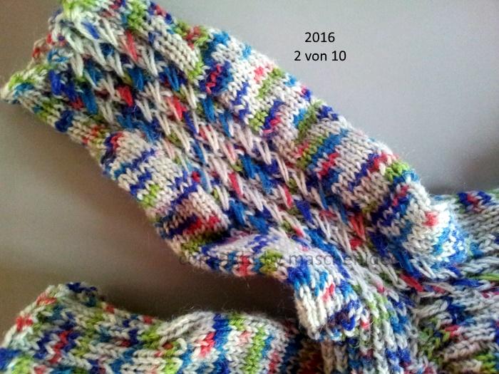 Socken HoC 2/10 - 2016 Detail